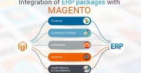 ERP integration with magento